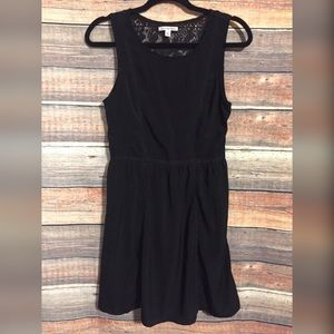 American eagle black lace sleeveless dress